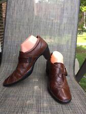EUC JOSEF SEIBEL The European Comfort Brown Leather w/buckle sz.40 Shoes