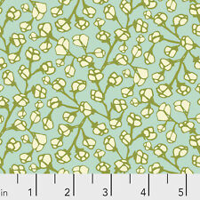 Marabella- Flourish Floral Free Spirit Cotton Quilt Fabric PWAR030 MONARCH Aqua