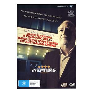 David Stratton: A Cinematic Life / Stories Of Australian Cinema DVD Brand  New