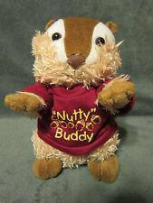 "Plush 7"" Brown/Tan Chipmunk / Squirrel Its All Greek To Me Nutty Buddy ASI62960"