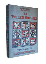 1915 Tales by Polish Authors: Sienkiewicz, Zeromski, Szymanski - Stories Poland