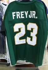 Chris Frey #23 Msu Spartans Signed Football Jersey ~ Inscribed Spartans Will!