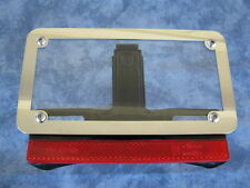 Motorcycle number plate frame / surround, suit HARLEY DAVIDSON, TRIUMPH .