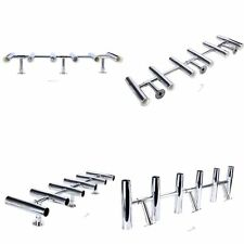 6 Tube Adjustable Stainless Rocket Launcher Rod Holder Can be Rotated 360 Degree