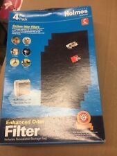 Replacement Carbon Filter for Air Purifiers (Set of 4) Hapf60