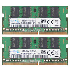 For Samsung 16GB 2X8GB 2RX8 PC4-17000 2133P DDR4-2133MHz SODIMM Laptop Memory