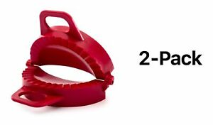 "Norpro Large Dough Dumpling Calzone Turnover Piroshky Press 3"" x 6"" (2-Pack)"