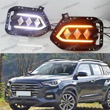 LED Daytime Running Light DRL Fog Lamp Day lights For Hyundai IX35/Tucson 2018