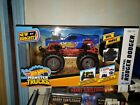 NEW BRIGHT 1:24 RC REMOTE CONTROL HOT WHEELS MONSTER TRUCK RODGER DODGER 2450