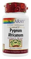 Solaray, Pygeum Africanum Extract - 50 mg - 60 Capsules
