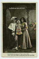 c 1910 Children Child TWO GIRLS w/ DOLL photo postcard