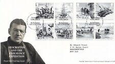 More details for first day cover gb 2016 shackleton expedition [tallents house] typed address uk
