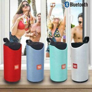 Bluetooth Speaker TG113 Portable Fabric Wireless Waterproof Outdoor Ultra Bass