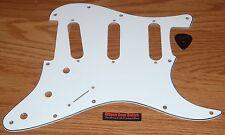 Fender Stratocaster Pickguard Jimi Hendrix American Reverse White Guitar Parts