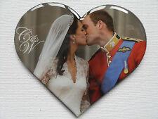 Prince William and Kate Middleton FRIDGE MAGNET Royal Wedding Kiss