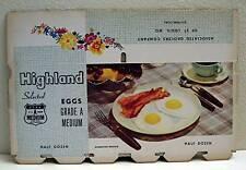 Associated Grocers Highland Egg Carton Box St Louis Mo