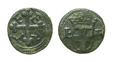 pcc1581_27) Savoia  Emanuele Filiberto (1559 -1580) ½ Quarto di Soldo I Tipo