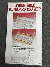 Undertable Keyboard Drawer, model KD-4P Plastic