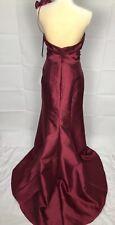 NWT $310 Jim Hjelm Occasions Shoulder Cherry Formal Prom Bridesmaid Dress Sz 12