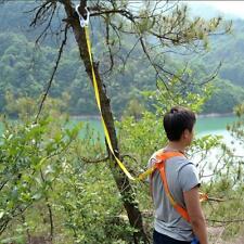 22kn Rock Climbing Harness Safety Recuse Belt Carabiner Rope Lanyard Tree AU