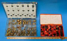 Brass Faucet Seat Assortment Various Sizes & Faucet Washers Set Plumbing Tool