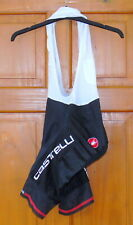 VERY GOOD CONDITION CASTELLI INFERNO BIB-SHORTS WITH PROGETTO X2 PAD. SIZE LARGE
