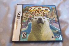Nintendo DS-Zoo Tycoon jeu