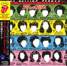 Rolling Stones Some Girls Japan OBI Mini LP CD 1999 Vjcp-68036 Die Cut Sleeve