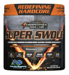 Competitive Edge Labs - Super Swole Grape - 20 Servings