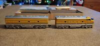 Athearn F7 A super powered & B dummy, ho scale, very nice,