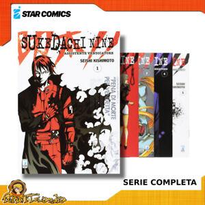 Fumetti  Manga Star Comics SUKEDACHI NINE Serie Completa Prima Edizione ITALIANO