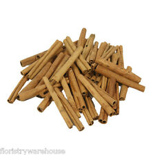 Dried Cinnamon Sticks 8cm (3 Inch) 200g Bag (approx 35 sticks)