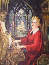 Christmas Organist  by Margaret Gardner