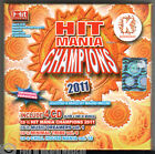 HIT MANIA CHAMPIONS 2011 dance Cofanetto 4 CD