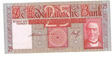 NEDERLAND BANKBILJET 25 GULDEN 1931 76-2 UNC met vouw