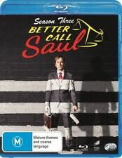 Better Call Saul : Season 3 (Blu-ray, 2017, 3-Disc Set)
