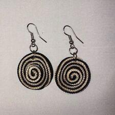 vueltiao style earrings Dangle Earrings, Colombian sombrero
