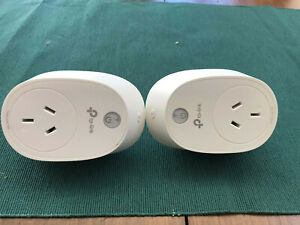 2 x TP-Link HS110 Wi-Fi Smart Plugs Energy Monitoring - Excellent used condition