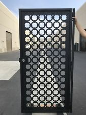 Metal  Contemporary Gate ,Custom Iron Steel Garden Entry Pedestrian Gate