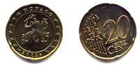 + MONACO . 20 CENTIMES d' EURO . 2002 .