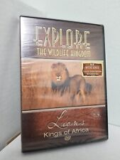 Explore the Wildlife Kingdom - Lions: Kings of Africa (DVD, 2006) BRAND NEW