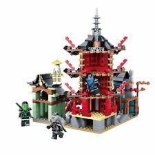 Ninja The Temple Set 730 Pcs Bricks Compatible With Legoing Ninjago Movies Model