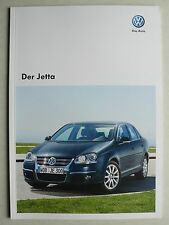 Prospekt Volkswagen VW Jetta, 11.2008, 52 Seiten