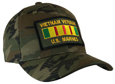 Vietnam Veteran Hat U.S. Marines Ball Cap Marine Corps USMC