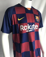 #10 Messi 19/20 Barcelona Football Soccer Home Jersey Men's Jersey