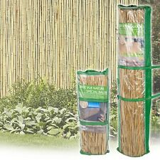Bamboo Reed Slat Screening Garden Privacy Fencing Outside Panel Rolls 2 Sizes