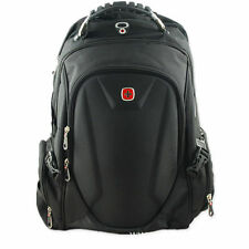 "15"" SwissGear Waterproof Laptop Backpacks Men's Business Travel School Bag Black"