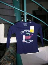 tee-shirt bleu foncée Taille 3Ans Marque Complices Girl Fille neuf avec étiquett