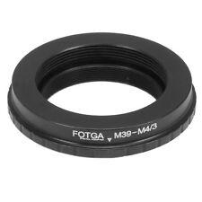 Adapter Ring For Leica M39 Lens to M43 Mount Panasonic GX8 GX7 GF9 G85GK GH3