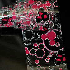 Fall inLove Micky Heart Nail Art Transfer Foil Tips DIY Sticker Perfect Toe G121
